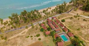 Stay in an ancient beachfront Malay House with ocean view in Terengganu: Terrapuri