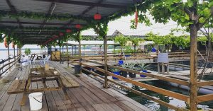 KK Sea Resort: Floating resort in Johor Bahru where you can go fishing and kayaking