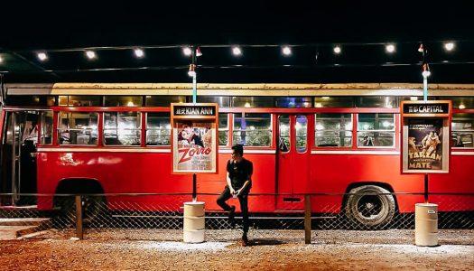NightBus 127: Vintage bus restaurant in Banting (near Kuala Lumpur)